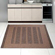 Teppich SISAL Optik Modern Küche Flachgewebe