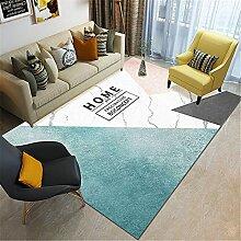 Teppich sitzecke Einfach sauber blau schwarz weiß
