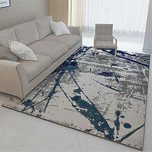 Teppich sitzecke kinderzimmer Blaugrau Abstrakter