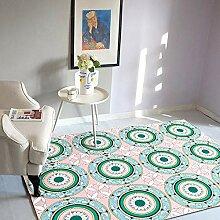 Teppich sitzecke kinderzimmer Rosa Blauer grüner