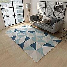 Teppich sitzecke küche Rutschfester blaugrauer