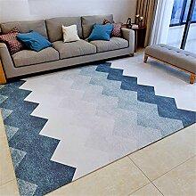Teppich sitzecke Robuster, weicher, blau, grau,
