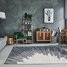 Teppich sitzecke Teppich Cremegrauer Abstrakter
