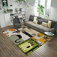 Teppich sitzecke Teppich Grüner gelber