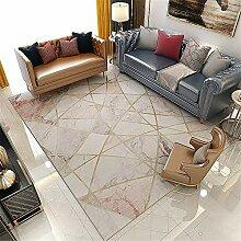 Teppich sitzecke Teppich Rosa und weißer Marmor