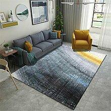 Teppich sitzecke Teppich Schwarze Blaue gelbe