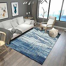 Teppich sitzecke Waschbarer blaugrauer