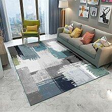 Teppich sitzecke Wohnzimmer Teppich Blauer grüner