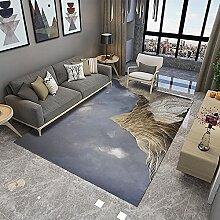 Teppich sitzecke Wohnzimmer Teppich Graugold Tinte