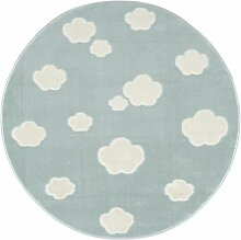 Teppich Sky in Mintgrün Livone