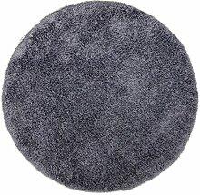 Teppich Soft in Dunkelgrau Teppichgröße: Rund