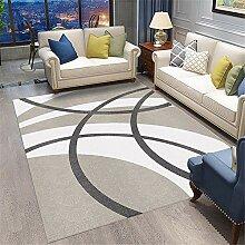 Teppich spielteppich Grauer weißer