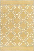 Teppich Stan, gelb (60/110 cm)
