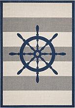 Teppich Steuerrad, blau (60/110 cm)