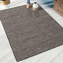 Teppich Sundance grau/schwarz 80x 150cm