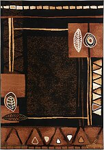 Teppich Tarifa, schwarz (60/110 cm)