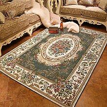Teppich teetisch sofa schlafzimmer bett handmade geschnitzt europäische und amerikanische teppiche-A 140x200cm(55x79inch)