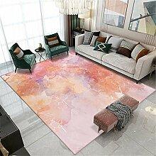 Teppich Teppich Balkon Rosa Gelb Weiß Tinte