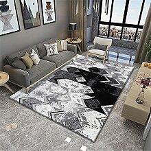 Teppich Teppich bürostuhl geeignet Schwarzer