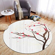 Teppich Teppich Chinesische Pflanze Blumenteppich