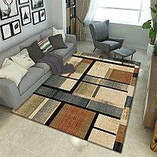 Teppich Teppich esszimmer Robuster, weicher, gelb,