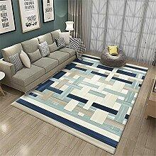 Teppich Teppich für Balkon Blauer grüner