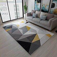 Teppich Teppich für kinderzimmer Graues schwarzes
