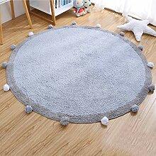 Teppich Teppich Haarball rund Teppich Kinderzimmer