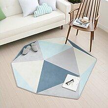 Teppich Teppich Wohnzimmer Einfache und moderne Home Teppich Crawling Mat ( Farbe : A , größe : 180cm*165cm )