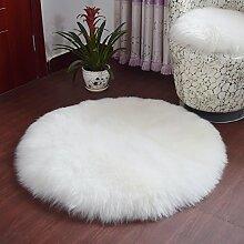 Teppich teppiche plüsch round carpet wohnzimmer bett mit einem fenster voller teppiche-A Durchmesser150cm(59inch)
