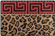 Teppich Teppiche rutschfeste Fußmatten 31 x 20