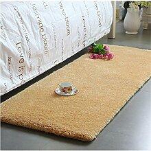 Teppich Thicker Full Floor Türmatten Schlafzimmer Nachttisch Teppich Lange Fuß Teppich Fenster Matten Lebensmittel ( Farbe : G , größe : 40*120cm )