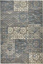 Teppich Tim, blau (67/130 cm)
