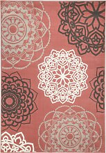 Teppich Tonja, rosa (120/170 cm)
