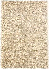 Teppich Toronto, Hochflor, beige (50/90 cm)