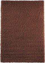 Teppich Toronto, Hochflor, braun (50/90 cm)