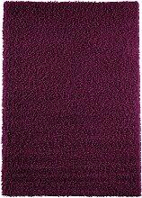 Teppich Toronto, Hochflor, lila (50/90 cm)