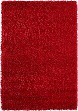 Teppich Toronto, Hochflor, rot (50/90 cm)