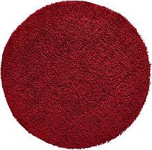 Teppich Toronto rund, rot (Ø 120 cm)