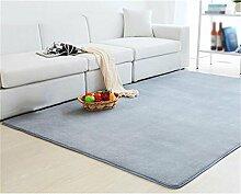 Teppich Uni Farbe Plüsch Teppich Büro Wohnzimmer