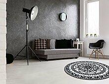 Teppich Utopia 112Schwarz 100x 100cm