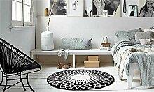 Teppich Utopia 115Schwarz 100x 100cm