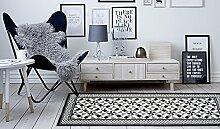 Teppich Utopia 400schwarz 67x 180cm