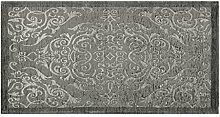 Teppich Velour mit Rückseite rutschfest Position Velvet by Suardi 115x175 grau