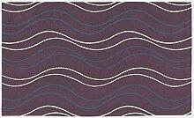 Teppich Velour mit Rückseite rutschfest Typ Altea 115x175 cm Mirtillo