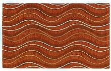 Teppich Velour mit Rückseite rutschfest Typ Altea 140x195 cm Arancio