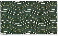 Teppich Velour mit Rückseite rutschfest Typ Altea 65x300 cm grün