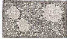 Teppich Velour mit Rückseite rutschfest Typ Astrid 175x240 cm smoked pearl