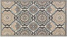 Teppich Velour rutschfest Typ Aphrodite 85x150cm Schlamm