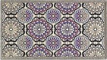 Teppich Velour rutschfest Typ Aphrodite 85x150cm viole